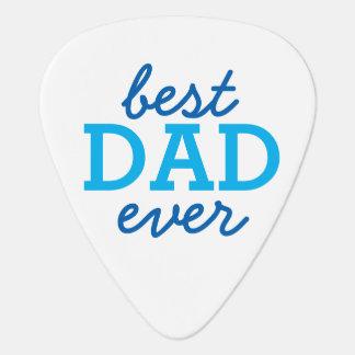 """カスタムな写真""""最も最高のなパパ"""" ギターピック"""