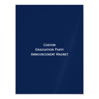 カスタムな卒業パーティーの発表の磁石を作成して下さい マグネットカード