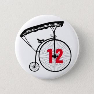 カスタムな囚人のアイデンティティバッジ/ボタン(#あなたの) 5.7CM 丸型バッジ
