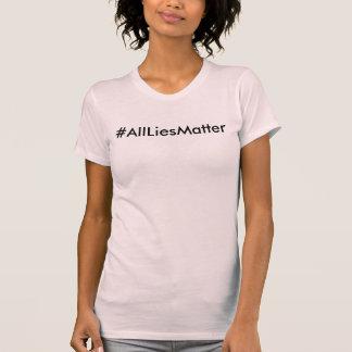 カスタムな女性なぜうそか。 ZAZZ_ITのTシャツによる服装 Tシャツ