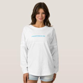 カスタムな女性の精神のjerseyのワイシャツ スピリットジャージー