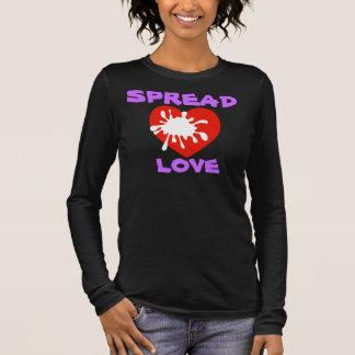 カスタムな女性長袖のTシャツを作成して下さい 長袖Tシャツ