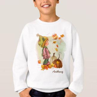 カスタムな子供の一流の感謝祭のギフトのスエットシャツ スウェットシャツ