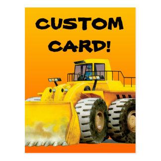 カスタムな子供の坑夫の郵便はがき ポストカード