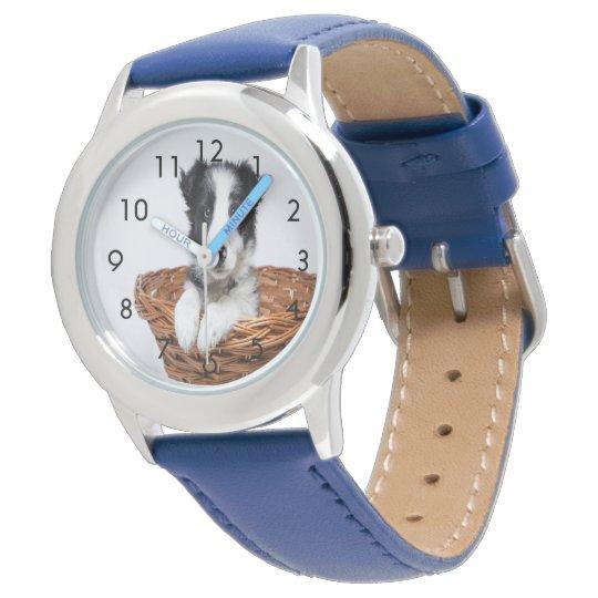 カスタムな家族ペット腕時計 腕時計