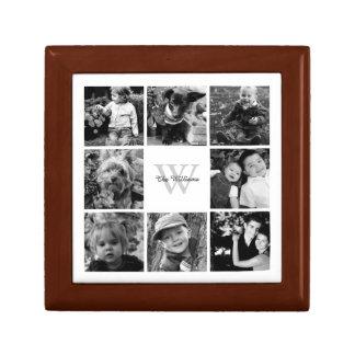 カスタムな家族写真のコラージュ ギフトボックス