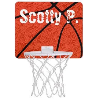 カスタムな小型バスケットボールたが ミニバスケットボールネット