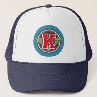 """カスタムな手紙""""K"""" Decoのデザイン キャップ"""