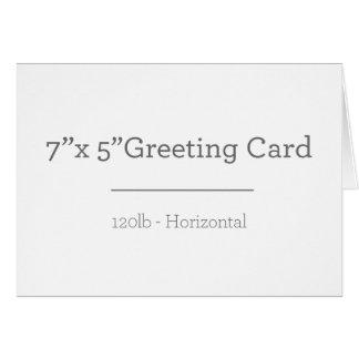 カスタムな挨拶状 グリーティングカード