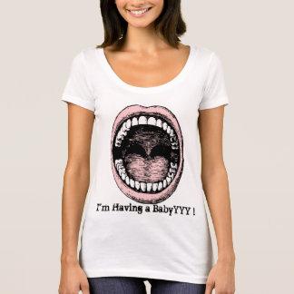 カスタムな文字のおもしろいな発表 Tシャツ