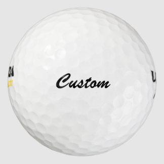 カスタムな文字プレーヤーの名前のゴルフ・ボール ゴルフボール