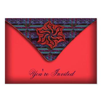 カスタムな新年のパーティーの招待 カード