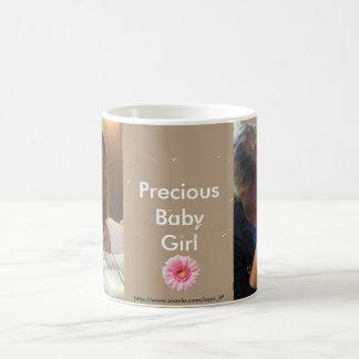 カスタムな新生児の写真のマグ コーヒーマグカップ