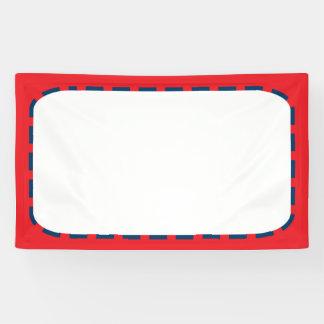 カスタムな旗DIYのテンプレートは文字の写真のイメージを加えます 横断幕