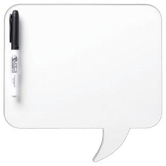 カスタムな正方形のスピーチの泡ホワイトボード ホワイトボード
