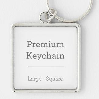 カスタムな正方形のKeychain キーホルダー