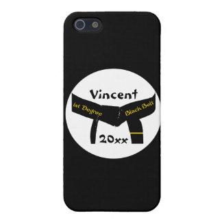 カスタムな武道の第1程度の黒帯 iPhone 5 ケース