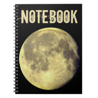 カスタムな満月 ノートブック