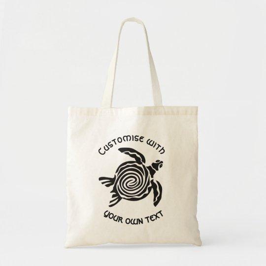 カスタムな種族のカメのデザイン トートバッグ
