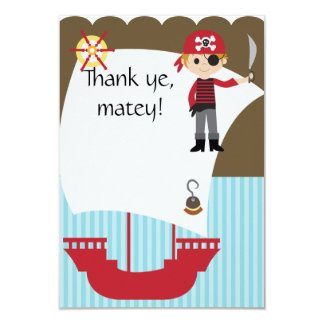 カスタムな精通した海賊は感謝していしています カード