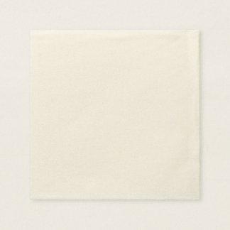 カスタムな紙ナプキン-標準的なベージュ色 スタンダードカクテルナプキン