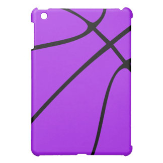カスタムな紫色のバスケットボール iPad MINIケース