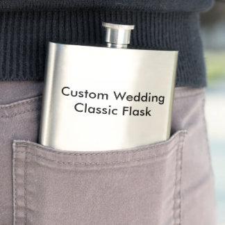 カスタムな結婚式のクラシックのフラスコ フラスク