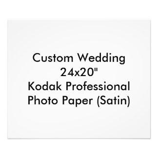 カスタムな結婚式の保存日付の写真のプリント 写真
