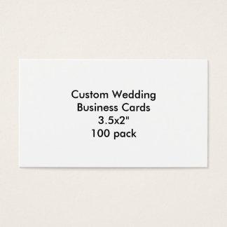 """カスタムな結婚式の名刺3.5x2"""" 100パック 名刺"""