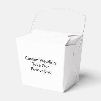 カスタムな結婚式は好意箱を取ります フェイバーボックス