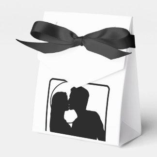 カスタムな結婚披露宴の好意のギフトバッグ フェイバーボックス