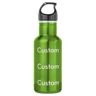 カスタムな緑のステンレス鋼18ozの水差し ウォーターボトル