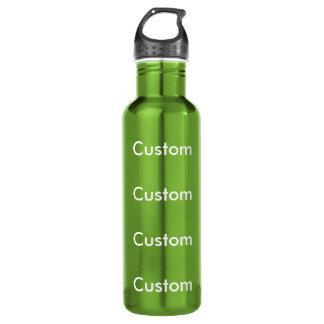 カスタムな緑のステンレス鋼24ozの水差し ウォーターボトル