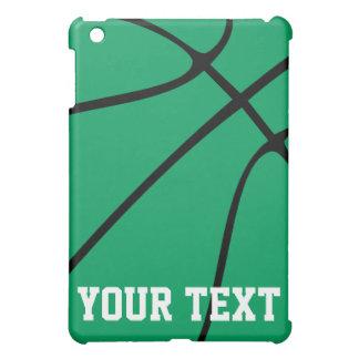 カスタムな緑のバスケットボールのiPad Miniケース iPad Mini Case