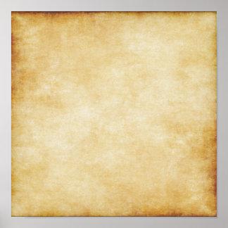カスタムな背景の硫酸紙のテンプレート ポスター