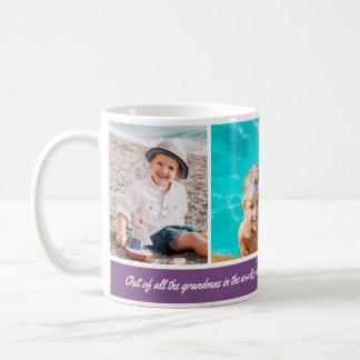 カスタムな背景色3の写真のマグ コーヒーマグカップ