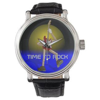 カスタムな腕時計を揺する時間 腕時計