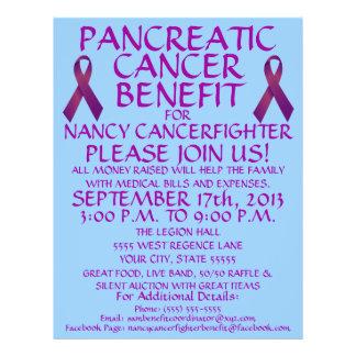 カスタムな膵臓癌の利点のフライヤ チラシ