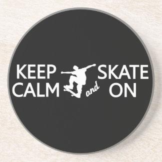 カスタムな色のコースターの平静及びスケートを保って下さい コースター