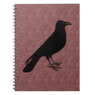 カスタムな色のワタリガラス ノートブック