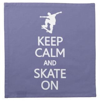カスタムな色の布のナプキンの平静及びスケートを保って下さい ナプキンクロス