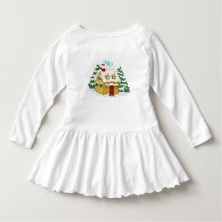 カスタムな赤ん坊のTシャツ ドレス
