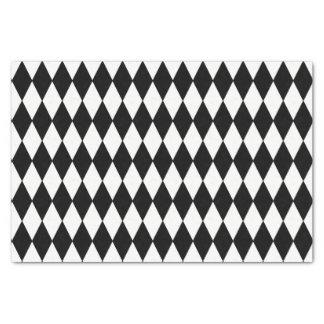 カスタムな道化師の黒ダイヤのティッシュペーパー 薄葉紙