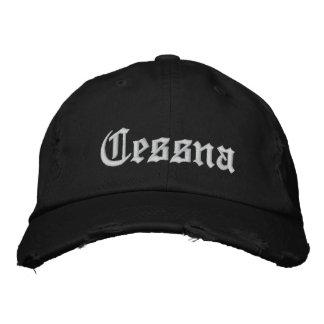 カスタムな野球帽子セスナ 刺繍入りキャップ