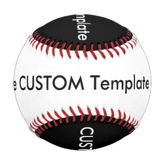 カスタムな野球、正規のサイズの黒及び白 野球ボール