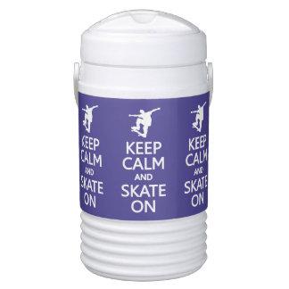 カスタムな飲料のクーラーの平静及びスケートを保って下さい ドリンククーラー