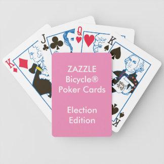 カスタムなBicycle®のトランプのポーカーのトランプの選挙 バイスクルトランプ
