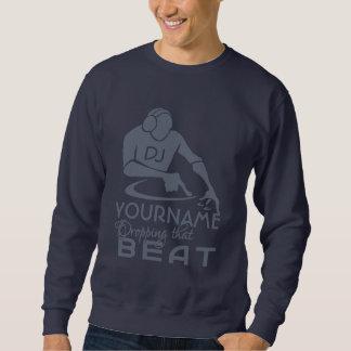 カスタムなDJのワイシャツ及びジャケット スウェットシャツ