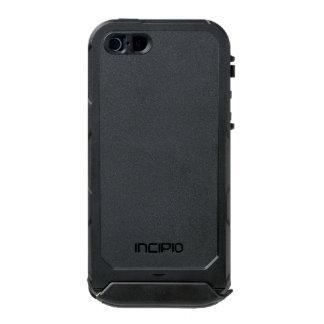 カスタムなIncipioの地図書ID™のiPhone 5の場合 ウォータープルーフiPhone SE/5/5sケース