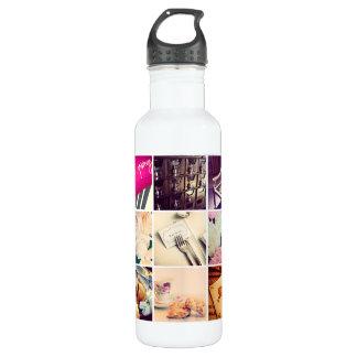 カスタムなInstagramの写真のコラージュの水差し ウォーターボトル